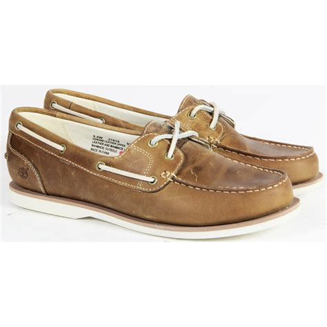 womens timberland casual leather boat running