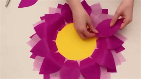 let s make paper flowers easy flower