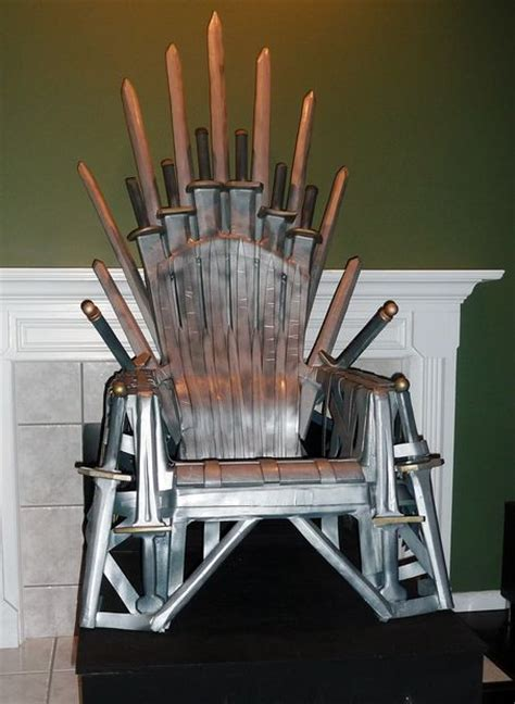 build your own recliner make your own quot iron quot throne
