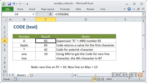 us area code exle how to use the excel code function exceljet