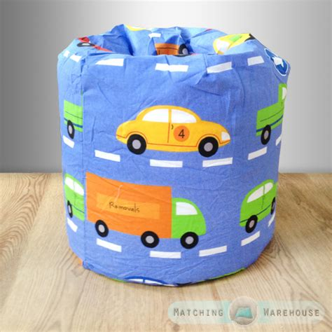 childrens character filled beanbags bedroom play room