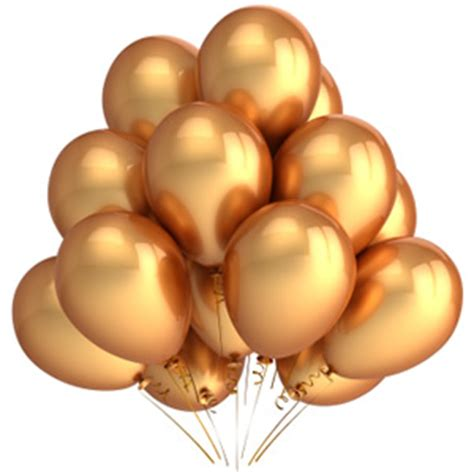 Balon Metalik Gold Mix Silver 12inch 30cm 12 quot metallic balloons