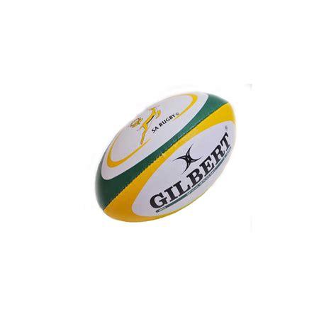 mini ballon rugby replica afrique du sud gilbert