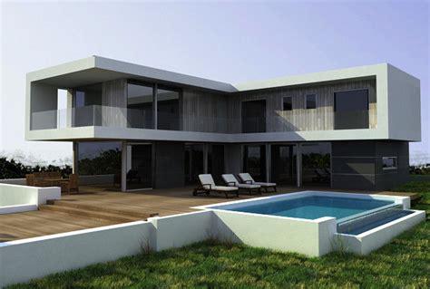 Modern European Style Villa Prefab A Casa Pr 233 Fabricada Pequena Estrutural De A 231 O Dirige Casa