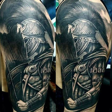 warrior tattoo sleeve designs spartan 71 tattoos spartan