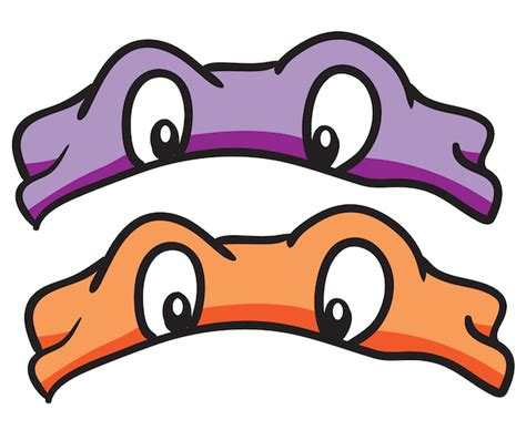 pattern for ninja turtle face printable masks mais pinterest