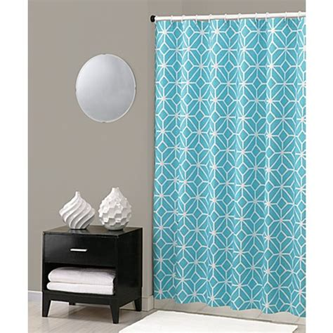 trina turk shower curtain buy trina turk 174 trellis shower curtain in turquoise from