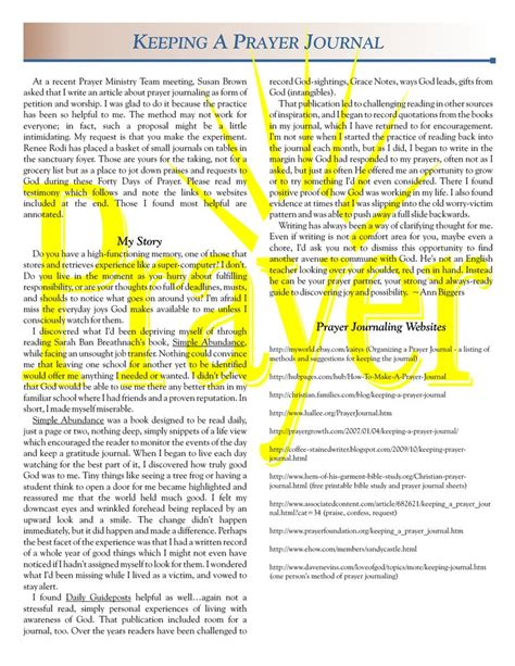 prayer journal template e commercewordpress