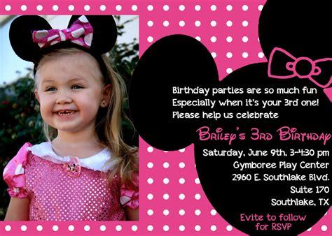 3 year old birthday invitation quotes stopboris Choice Image