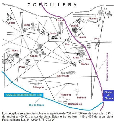 imagenes satelitales lineas de nazca mapa general figuras de nazca 360 176 a novel pinterest