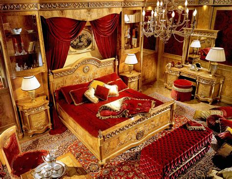 red and gold home decor luxury baroque bedroom home deco pinterest baroque