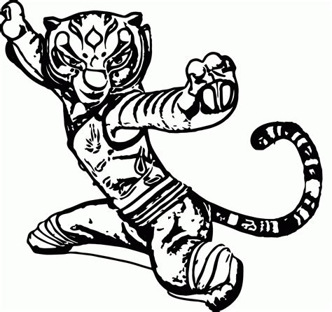 kung fu panda legends of awesomeness coloring pages kung fu panda tigress coloring pages coloring home
