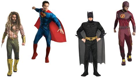 adult superhero costumes  dc comics