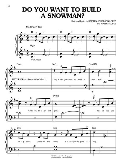 printable lyrics to love is an open door frozen music from the motion picture soundtrack big note