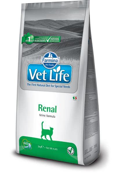 insufficienza renale alimentazione farmina vet renal feline alimentazione gatto