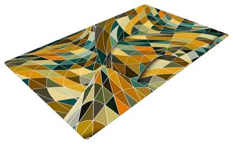 Teal And Yellow Rug Danny Ivan Quot Bring You Back Quot Yellow Teal Woven Area Rug 48