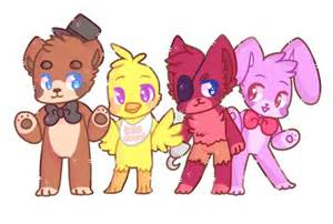 Cute five nights at freddy s by snowdrop4 on deviantart