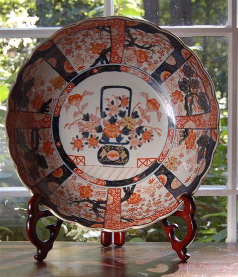 antique reproduction floor ls reproduction imari porcelain punch bowl 15 quot