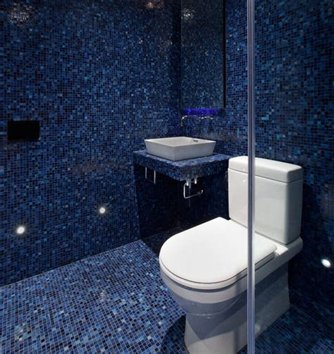 dark blue bathroom tiles 40 dark blue bathroom tile ideas and pictures