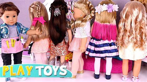 Doll Hair Style Doll by Baby Doll Hair Cut Shop Play American Dolls Dyi