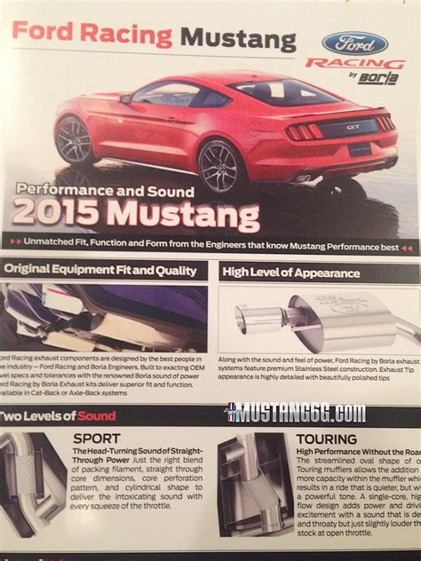 Ford Racing Parts by Mustang6g Spies 2015 Mustang Ford Racing Parts Fordnxt