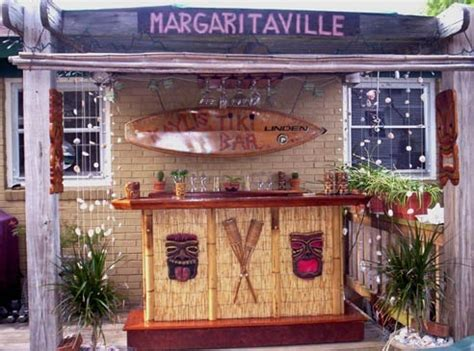 Tiki Bar Backyard Backyard Ideas Design Pinterest Backyard Tiki Bar Ideas