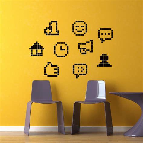 Smiley Deco Sticker by Sticker Smileys En Pixel