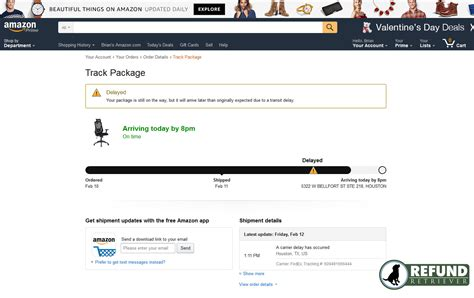 amazon tracking error in fedex tracking mistake or not refund retriever