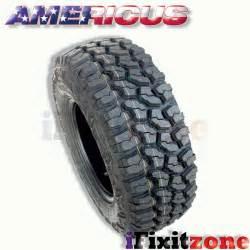 rugged all terrain tires 2 americus rugged mt lt265 75r16 123 120q e 10 all terrain mud tires ebay