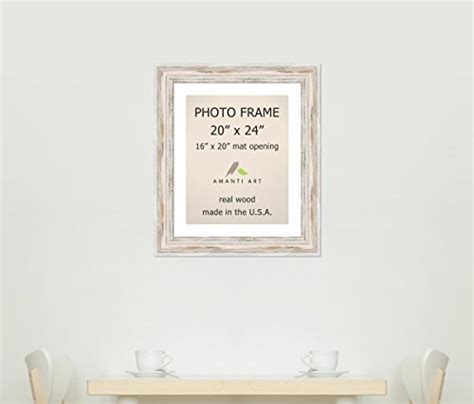 20x24 Picture Frame Matted To 16x20 picture frame 20x24 matted to 16x20 quot alexandria white