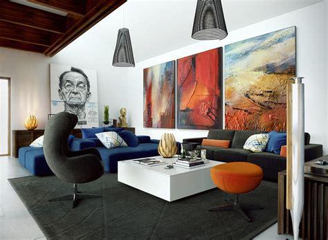 wohnzimmer kunst bilder f 252 r wohnzimmer 20 tipps und moderne gestaltungsideen
