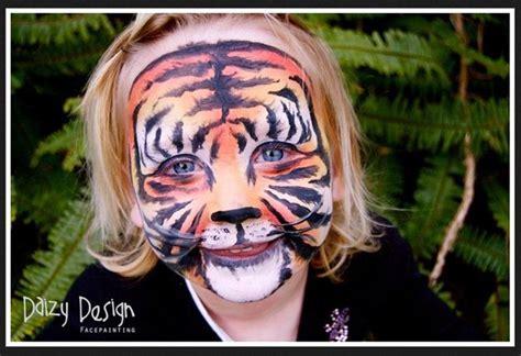 Realistic Tiger Face Paint Realistic Tiger Makeup