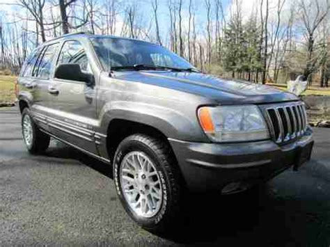 2002 Jeep Grand Sport Sell Used 2002 Jeep Grand Limited Sport Utility 4