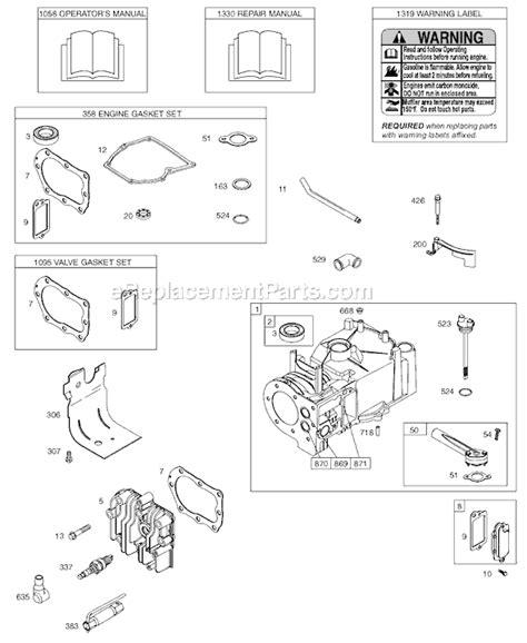 briggs and stratton 158cc carburetor diagram briggs and stratton 158cc carburetor diagram wiring