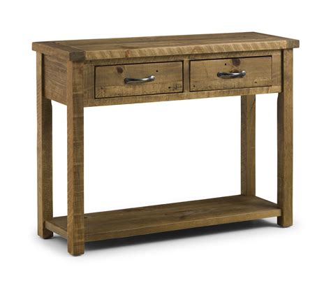 solid wood console table with drawers cordoba solid pine console table with 2 drawers jb37