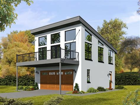 garages with apartments on top 062g 0081 2 car garage apartment plan with modern style