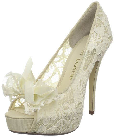 Lace Wedding Heels by Comfortable Lace Wedding Shoes S Ware
