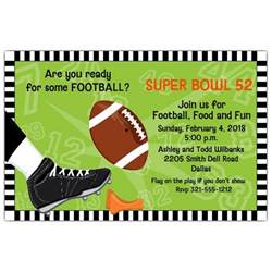 kick football invitations paperstyle