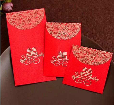 new year envelope married china traditional wedding favor packet