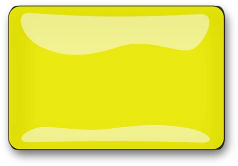 Yellow Rectangular yellow rectangle lighter clip at clker vector clip royalty free
