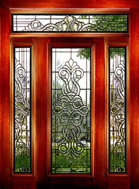Decorative Glass Front Doors Stained Glass Panels Antique Stained Glass Beveled Glass Door Capitalglass Ie