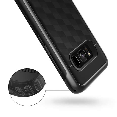 Original Caseology Galaxy S8 Vault I Black caseology galaxy s8 s8 plus parallax series black primegad
