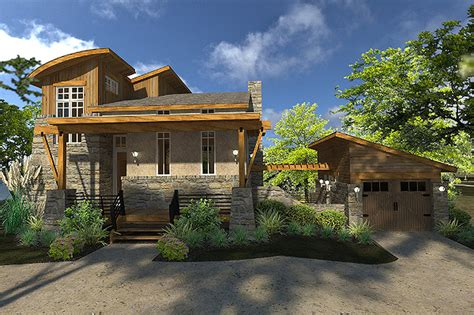 houses plan contemporary style house plan 2 beds 2 baths 985 sq ft plan 120 190