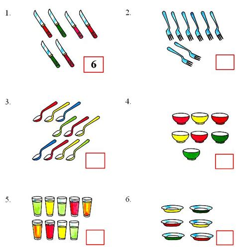 Count And Write Number Worksheets For Kindergarten by Worksheet On Counting Numbers 6 To 10 Kindergarten