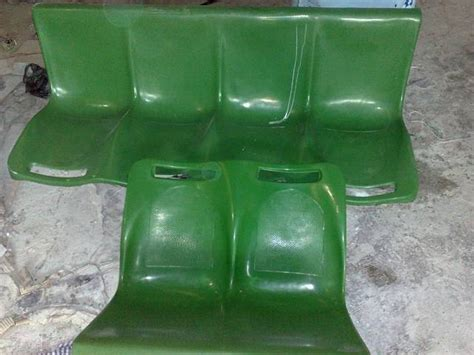 Kursi Fiberglass Kursi Fiberglass Bangku Stadion Taman Ruang Tunggu