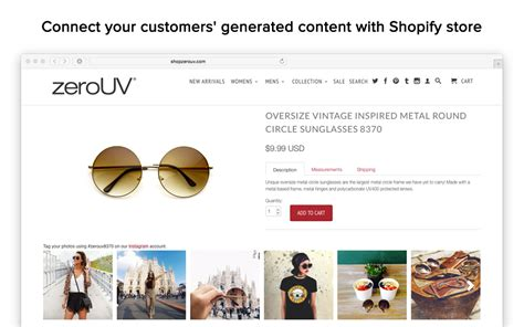 shopify themes instagram socialphotos ecommerce plugins for online stores