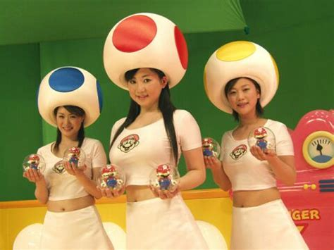 super mario bros mushroom girls cosplay obsolete gamer