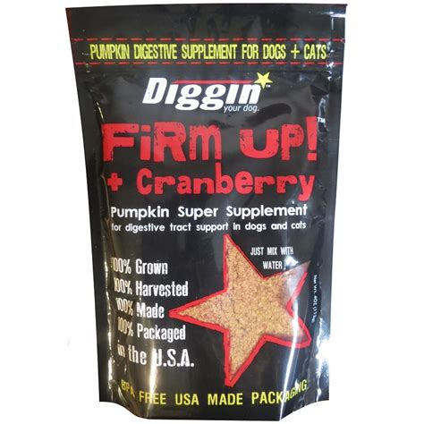 cranberry pills for dogs diggin your firm up pumpkin plus cranberry digestive supplement for dogs