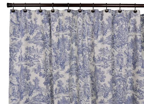 toile drapes curtains victoria park toile bathroom shower curtain the shoppers