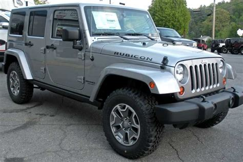 jeep rubicon silver custom jeep wrangler unlimited for sale 2013 billet